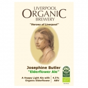 Josephine Butler 4.5% by Liverpool Organic Brewery