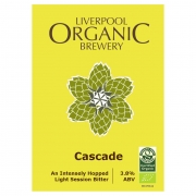 Cascade 3.8% by Liverpool Organic Brewery