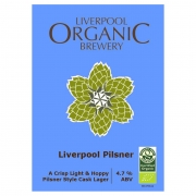 Liverpool Pilsner 4.7% by Liverpool Organic Brewery