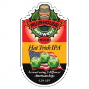 Hat Trick IPA 5.2% by Muirhouse Brewery