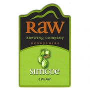 Simcoe Pale 3.8% by Raw Brewery