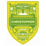 Christopher 4.5% by Great Heck Brewing