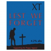 Lest We Forget 4.2% by XT Brewery