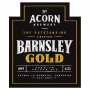 Barnsley Gold 4.3% by Acorn Brewery