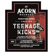 Teenage Kicks 4.5% by Acorn Brewery