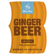 Ginger Beer 4.5% by Blue Bee Brewery