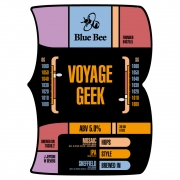 Voyage Geek 4.8% by Blue Bee Brewery