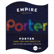 Porter 5.0% by Empire Brewing