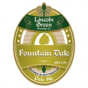 Fountaindale 4.3% by Lincoln Green Brewery