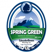 Spring Green 4.3% by Lincoln Green Brewery