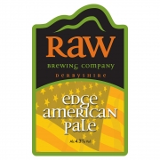 Edge American Pale 4.3% by Raw Brewery