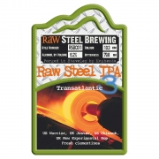 Raw Steel IPA 3 6.2% by Raw Brewery