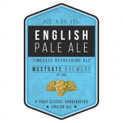 English Pale Ale 4.0% by H.B. Clark