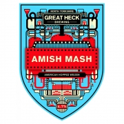 Amish Mash 4.7% by Great Heck Brewing
