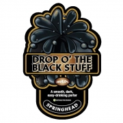 Drop O' The Black Stuff 4.0% by Springhead Brewery