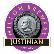 Justinian 3.9% by Milton Brewery
