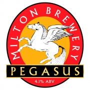 Pegasus 4.1% by Milton Brewery