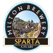 Sparta 4.3% by Milton Brewery