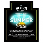 Summer Pale 4.1% by Acorn Brewery