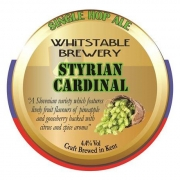 Styrian Cardinal 4.4% by Whitstable Brewery