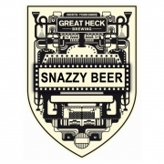 Snazzy Beer 4.5% by Great Heck Brewing