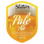 Pale Ale 3.8% by Slaters Brewery