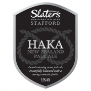 Haka 5.2% by Slaters Brewery