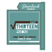 Root Thirteen 3.6% by Downlands Brewery