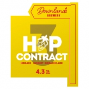 Hop Contract 4.3% by Downlands Brewery