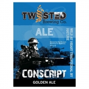 Conscript 4.2% by Twisted Brewery