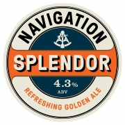Splendour 4.3% by Navigation Brewery