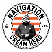 Cream Head 5.1% by Navigation Brewery