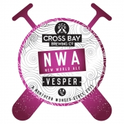 Vesper NWA 3.8% by Cross Bay Brewery
