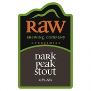 Dark Peak Stout 4.5% by Raw Brewery
