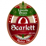 Scarlet 4.8% by Lincoln Green Brewery