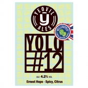 YOLO#12 4.2% by Yeovil Ales