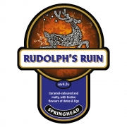 Rudolph's Ruin 4.2% by Springhead Brewery
