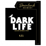 Dark Life 4.5% by Downlands Brewery