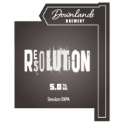 Resolution 5.0% by Downlands Brewery