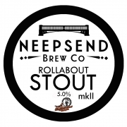 Rollabout Stout Mark II 5.0% by Neepsend