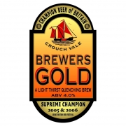 Brewers Gold 4.0% by Crouch Vale