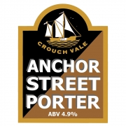 Anchor Street Porter 4.9% by Crouch Vale