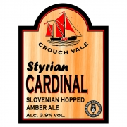 Styrian Cardinal 3.9% by Crouch Vale