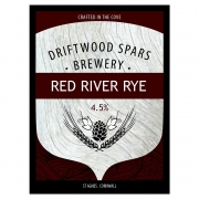 Red River Rye 4.8% by Driftwood Spars