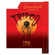 Tripod 5.2% by Downlands Brewery
