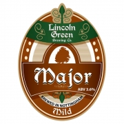 Major 3.6% by Lincoln Green Brewery