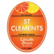 St Clements 4.5% by Lincoln Green Brewery