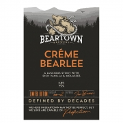 Creme Bearlee 4.8% by Beartown