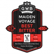 Maiden Voyage 4.0% by Great Western Brewing