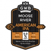 Moose River 5.0% by Great Western Brewing